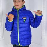 Куртка детская демисезонная размеры 98р. - 116р.
