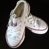 Converse детские низкие и высокие кеды Конверс