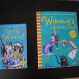 Детская книга про ведьму на английском Totally Winnie 3-in-1 Activity book. Laura Owen, Korky Paul