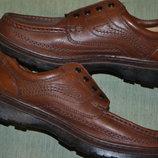 отличные добротные кожаные туфли Clarks Cushion Cell