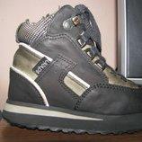 Кожаные демиисезонные ортопедические ботинки Schein р.25, ст.16 см