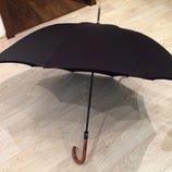 Невероятно стильный крепчайший женский зонт трость.