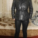 натуральная кожаная куртка на 48-50