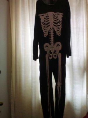 Карнавальный новогодний костюм скилет, кощей безсмертный для взрослых