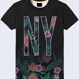 Мужская футболка 3D Tropical NY Огромный выбор