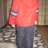 демисезонный костюмчик , на флисе на 2года, р.86-92. на мальчика