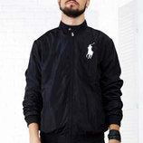 Мужская стильная куртка-ветровка POLO в расцветках.