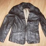Куртка-Пиджак из натуральной кожи, 40-42 разм