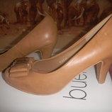 весенние туфли женские р 40-41 одеты 1 раз