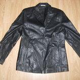 Куртка натуральная кожа, пиджак кожаный, 44-46 разм, М