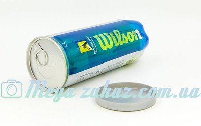 Мяч для большого тенниса Wilson Australian Open T1047 3 мяча в вакуумной упаковке