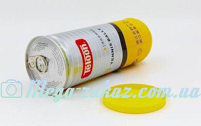 Мяч для большого тенниса Teloon T802 3 мяча в вакуумной упаковке