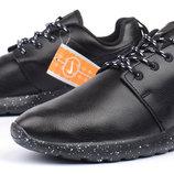 Кроссовки мужские кожаные Nike Roshe Run Oreo