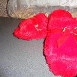 тапочки мохровые с открытым носком