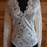 Блуза-Боди От H&M Полиамид Кружево