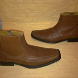 Распродажа Дорогие ботинки ESPRIT 100% нат.кожа Германия Идеал 45р.