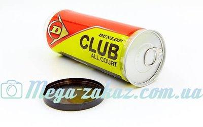 Мяч для большого тенниса Dunlop Clun All Court 603110 3 мяча в вакуумной упаковке