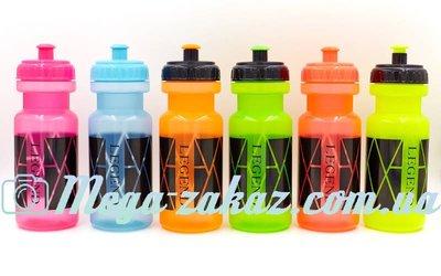 Бутылка для воды спортивная Legend 5961 6 цветов, объем 500мл