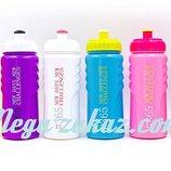 Бутылка для воды спортивная New Days 5957 6 цветов, объем 500мл