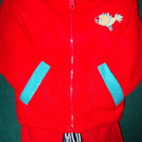 Флис- хлопок костюм р.98/110 отличное качество.
