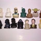 Фигурки Star Wars игрушка из сильпо звездные воины печатка фигурка