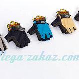 Велоперчатки текстильные перчатки спортивные Scoyco Вg02, 5 цветов S-XL