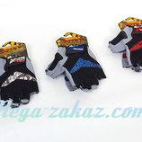 Велоперчатки текстильные перчатки спортивные Scoyco Вg13, 3 цвета размер S-XXL