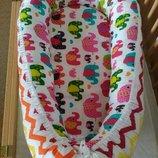 Кокон для новорожденного позиционер люлька кроватка гнездышко Cocoonbaby