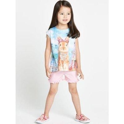Летний комплект для девочки 2- 3 года из Англии.
