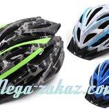 Велошлем кросс-кантри с механизмом регулировки HB31, 3 цвета размер M/L