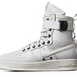 Кроссовки Nike Air Force SF1 - белые