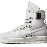 Женские кроссовки Nike Air Force SF1 - белые