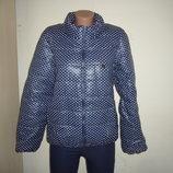 Куртка женская весенняя в горошек новая Украина М Л Хл