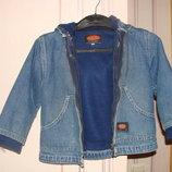 2 в 1 Джинсова куртка фліска на 3-5 років Gee Jay