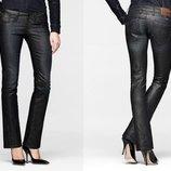 Новые джинсы стрейч с пропиткой темно-синие W32 L34 G-Star Elect Straight WMN