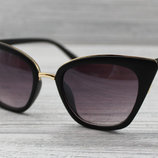 Женские матовые солнцезащитные очки