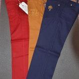 Каттоновые джинсы на мальчиков Синие5,6,7, 9-10 лет Турция
