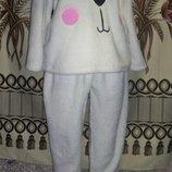 Фірмова тепленька м якенька піжама-зайчик Fabulous, 14-16, Китай.