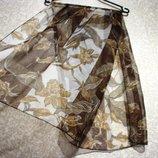 Шарф платок 126x51 см летний, нарядная косынка