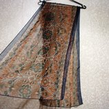 Шарф платок 155х51 см летний, нарядная косынка