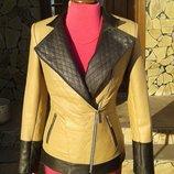 Куртка косуха из натуральной кожи в наличии 44 размер