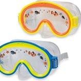 Детская маска пловца 3-8 лет Mini Aviator 55911 Интекс Intex