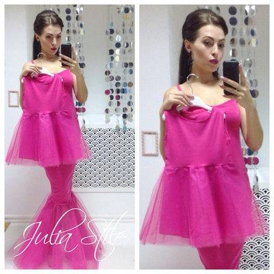 9ea0476aa10c Family Look комплект 2 платья фатин макси мама дочка. Previous Next