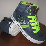 Хайтопы на мальчика Giolan арт. 889-1 р. 25-30 кроссовки ботинки
