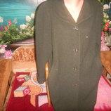фирменное пальто шерсть,кашемир,новое состояние, р 52-54