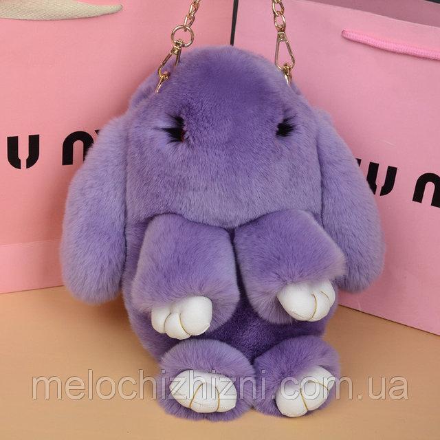 Меховой рюкзак сумка кролик: где можно купить недорого