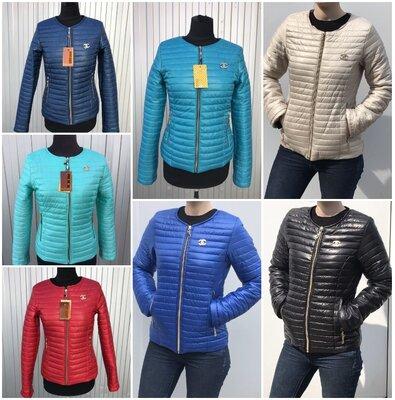 Новые демисезонные куртки Шанель, размеры 42-66