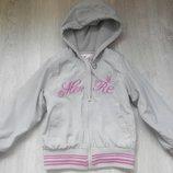 Курточка ветровка на флисе для девочки 3-4 г