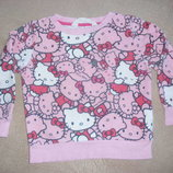 Свитер, свитшот Hello Kitty 2-4 года.