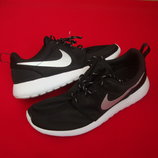 Кроссовки Nike Roshe Run Black оригинал 42-43 разм